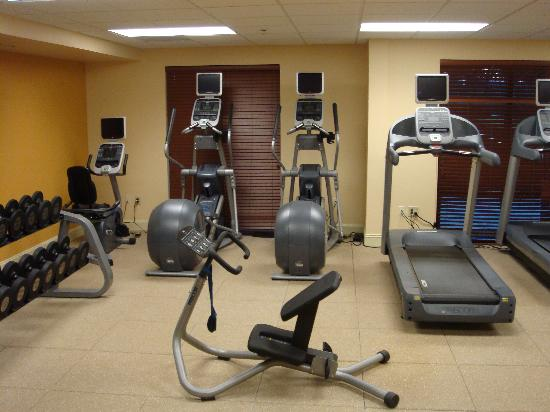 Hilton Garden Inn Beaufort: fitness room