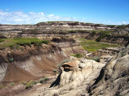 Drumheller, Canad: Amazing scenery