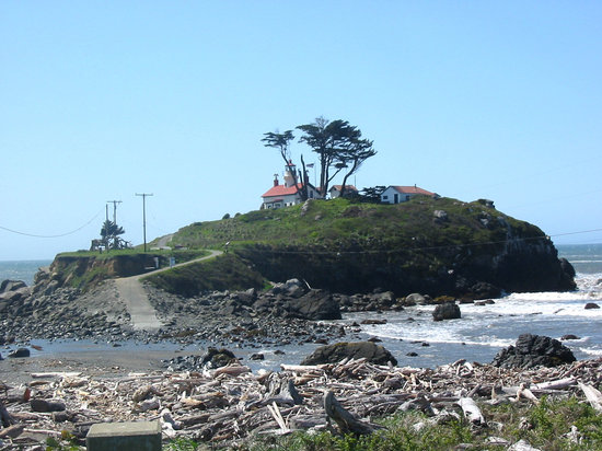 Crescent City, Californien: Battery Point Low Tide