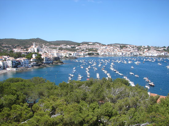 Cadaques, Spain: Town from balcony