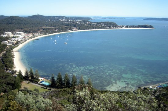Beautiful Shoal Bay from Tomaree Headland