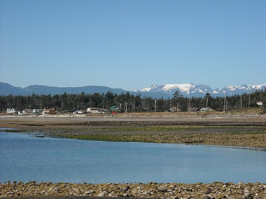 Courtenay, Canada : Point Holmes beach area