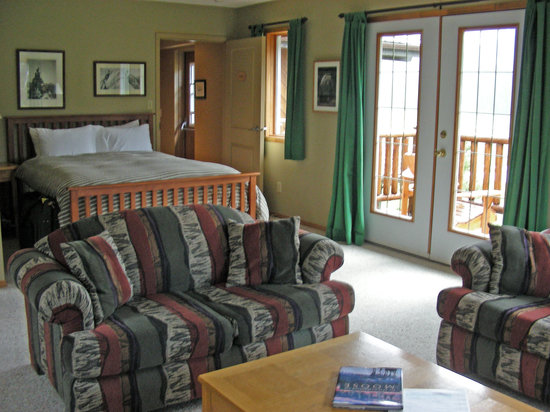 Mt. Engadine Lodge: Moose Suite