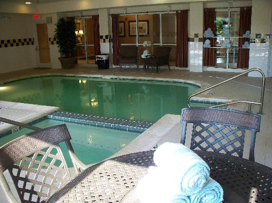 Hilton Garden Inn Chattanooga Downtown: Pool area