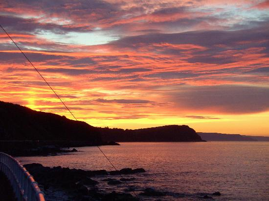 Sunset Over the Antrim Coast Road, Larne