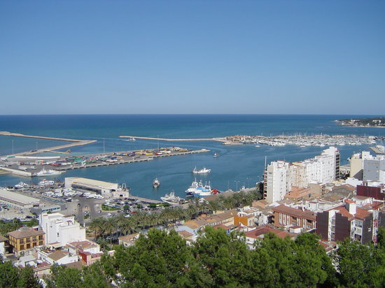 Denia harbour