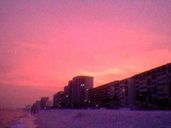 Destin Beach Club: Gorgeous sunsets