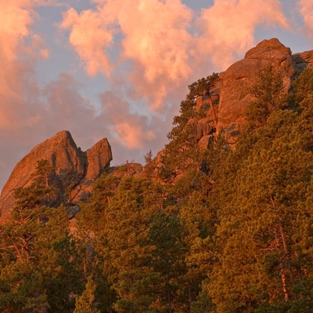 Needles in Custer State Park - South Dakota