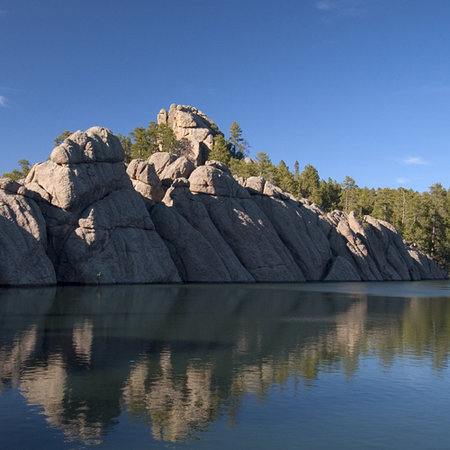 Sylvan Lake in Custer State Park - South Dakota
