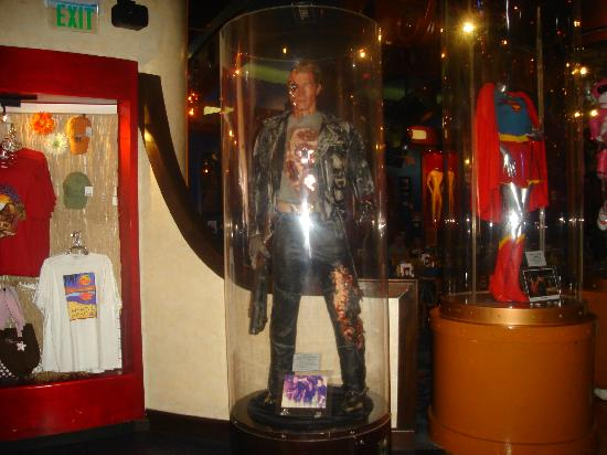 The Terminator Picture Of Planet Hollywood Myrtle Beach