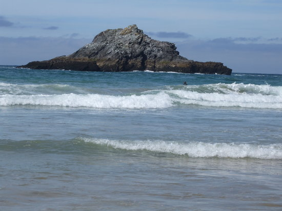 Newquay, UK : crantock beach