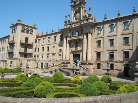 Santiago de Compostela, Spanien: The San Martino Monastry, part of which is now a hostel