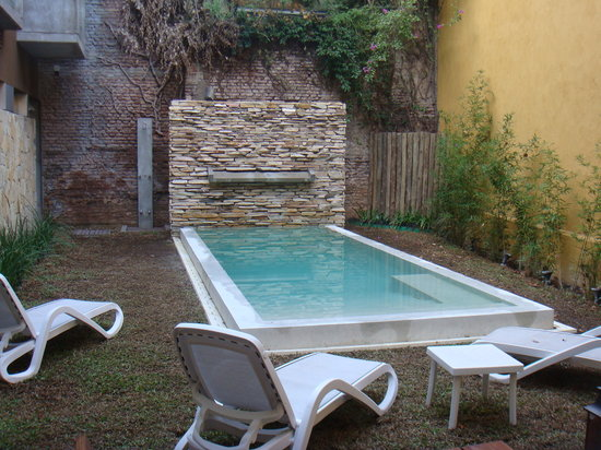 Mine Hotel Boutique: A piscina