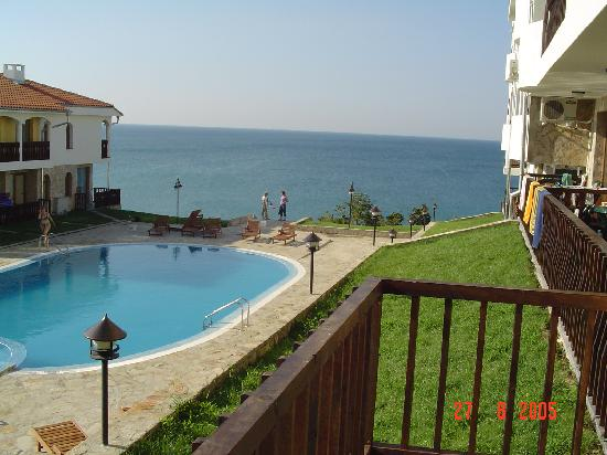 Sveti Vlas, Bulgaria: view from balcony
