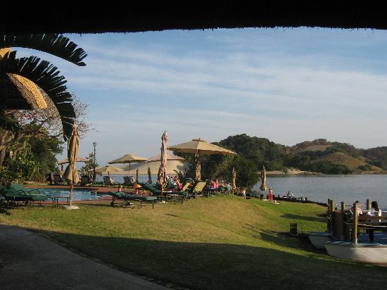 Port St Johns, South Africa: Pool area / grass