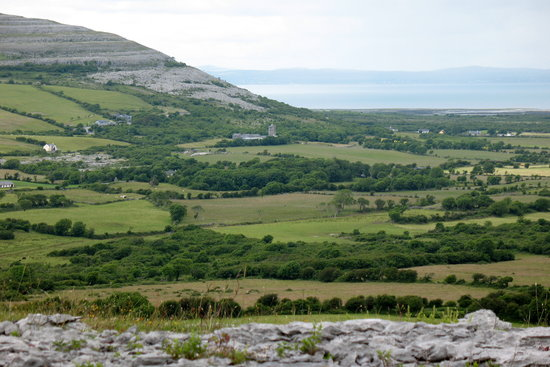County Clare, Ireland: Co. Clare View to Galway Bay
