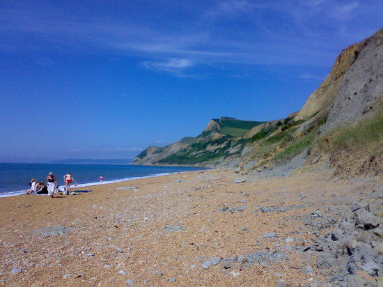 Bridport, UK : Eype Beach near the hotel