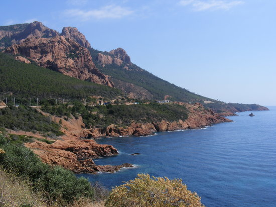Fréjus, Francia: The wonderful Mountain views