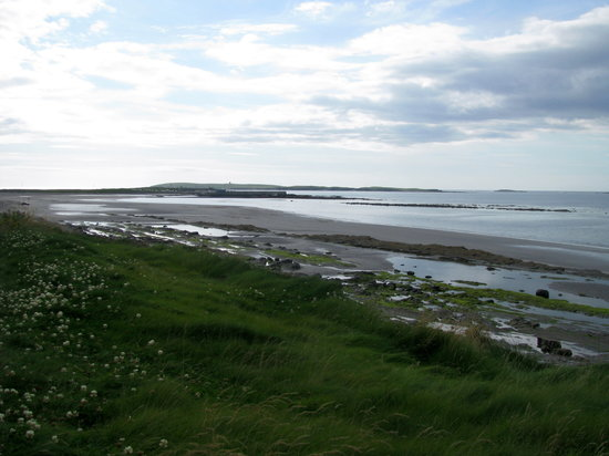 Comt de Clare, Irlande : Quilty beach, county Clare 
