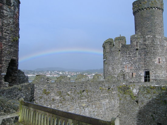 Rainbow at Conwy