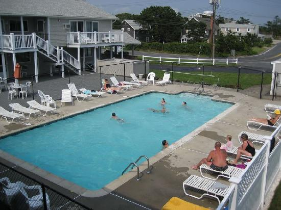 Three Seasons Motor Lodge: swimming pool