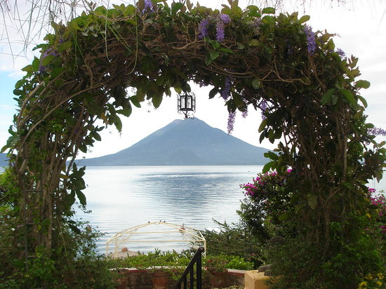 Panajachel, Guatemala: View from the grounds