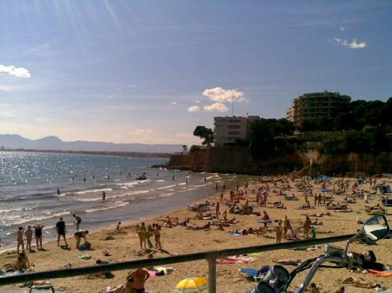 4R Salou Park: Capellans beach