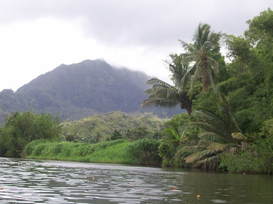 Kilauea, : Hanalei River