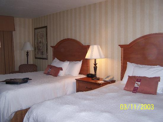 Hampton Inn & Suites Yuma: The beds were very comfy.