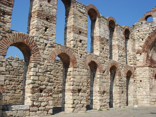 Ruins at Old Nessebar
