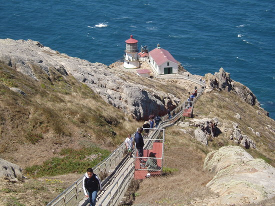 Inverness, Калифорния: Point Reyes Lighthouse