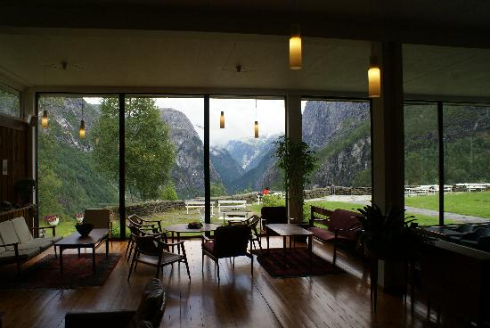 Hordaland, Norvegia: Viev from inside the hotel