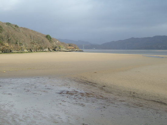 Portmeirion, UK: Low Tide