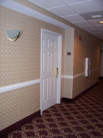 Comfort Suites: hallway