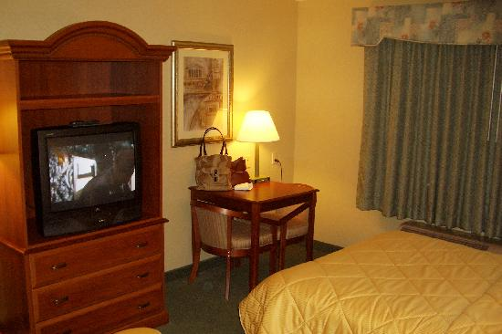 Comfort Inn: Desk and TV