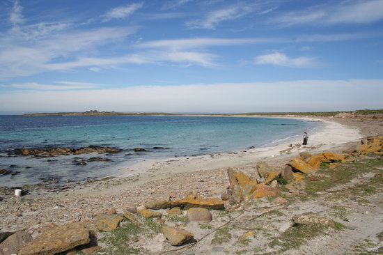 Orkney Islands, UK: the beach