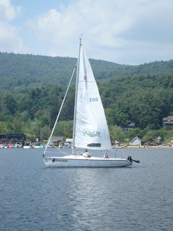 Bolton Landing, : Sailing School