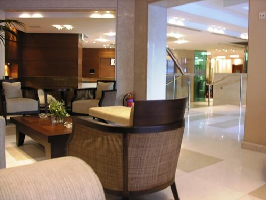 Hotel Anatolia: reception area