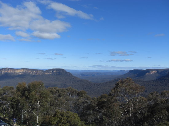 Katoomba, Australien: View from room 227/Cloudmaker