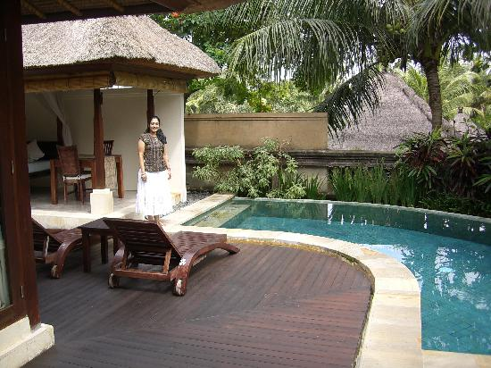 Private pool in the garden villa picture of the ubud for Garden pool villa ubud