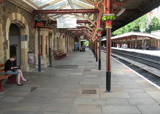 Great Malvern train station, paid for by Lady Foley