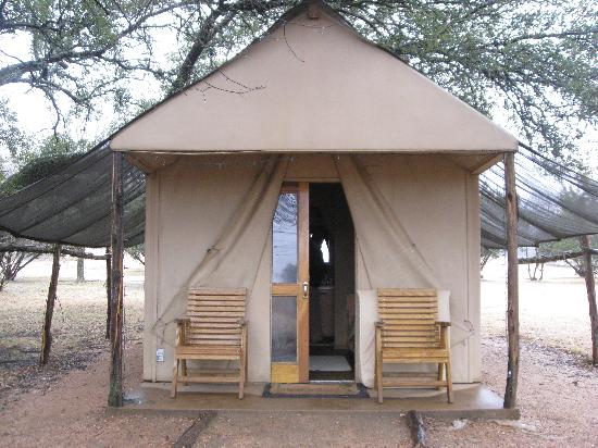Pathway To The Tents Picture Of Foothills Safari Camp At