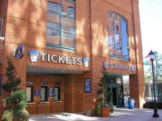 The Durham Bulls Stadium Picture Of Durham North Carolina Tripadvisor
