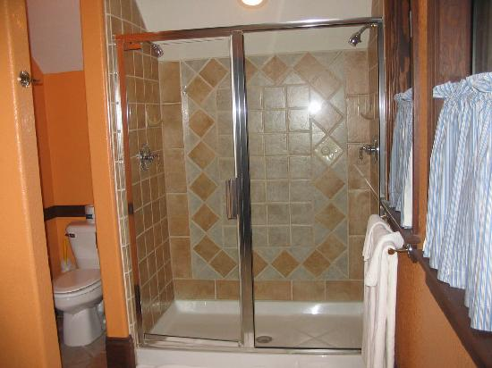 Applewood Inn: Shower.