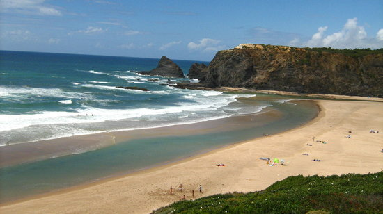 Alentejo, : Odeceixe Beach