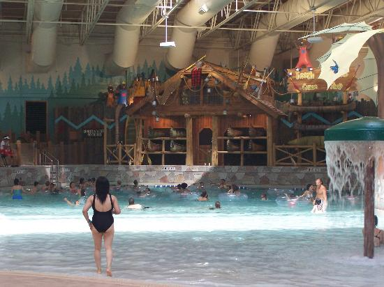 Great Wolf Lodge: Piscine à vagues