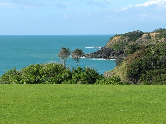 Tutukaka, New Zealand: View from patio