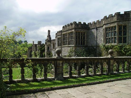 Графство Дербишир, UK: Haddon Hall, Derbyshire, England