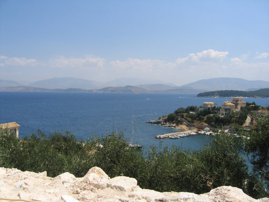 Kassiopi, Griechenland: View from Fort 1