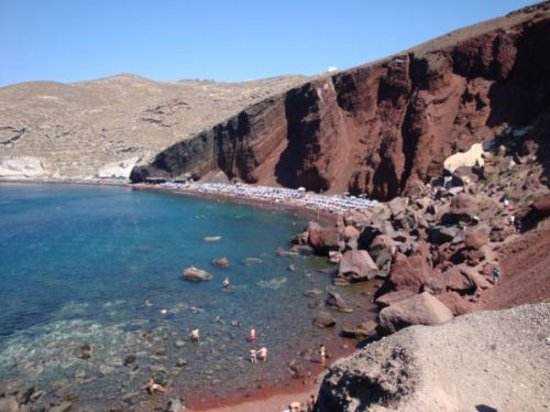 Perissa, Greece: Red Beach